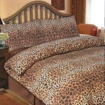 Animal Print, Leopard Print, Single Duvet Cover Set