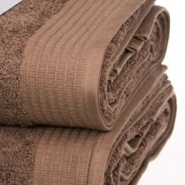 Pack of 2 Chocolate Brown Egyptian Cotton 650gsm Towel Large Bath Sheet