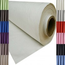 Blackout Thermal Curtain Lining Fabric Material 3 PASS SOLD PER METRE - 12 Colours