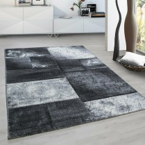 1710 MONTAGE HEAVY HAND CARVED RUG LARGE LIVING ROOM FLOOR CARPET BLACK GREY BLUE RED RUGS