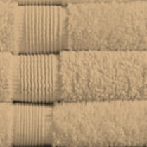 Walnut/ Beige 500 gsm Egyptian Cotton Guest Towel