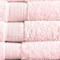 Baby Pink 500 gsm Egyptian Cotton Guest Towel