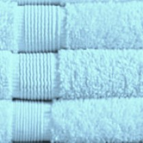 Aqua 500 gsm Egyptian Cotton Guest Towel