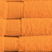 Tangerine 500 gsm Egyptian Cotton Guest Towel