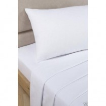500 Thread Count White Flat Sheets