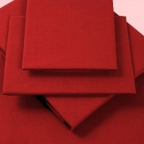 Percale Box Pleated Base Platform Valance Sheets in BERRY/ BURGUNDY