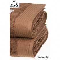 Pack of 2 Chocolate Brown Egyptian Cotton 650gsm Towel JUMBO Bath Sheet