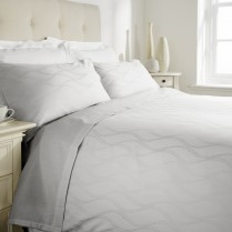 300 Thread Count Egyptian Cotton SeaSide Design Duvet Cover and Pillowcases Set