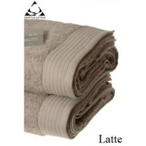 Pack of 2 Latte Egyptian Cotton 650gsm Towel JUMBO Bath Sheet