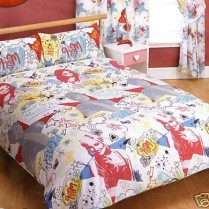 High School Muisical Scribbles Double Duvet Cover Set