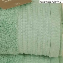 Pack of 2 Mint Green Egyptian Cotton 650gsm Towel JUMBO Bath Sheet
