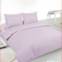 Luxury 180 Thread Count Gingham Check Bed Set PINK Duvet Cover + Pillowcases