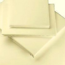 Cream Cot/ Baby Bed Duvet Cover and Pillowcase