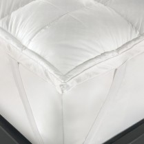 Duck Feather and Down Mattress Toppers White